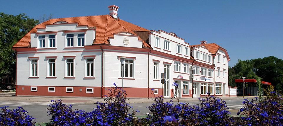 Fasadne štukature - Hotel Varaždin