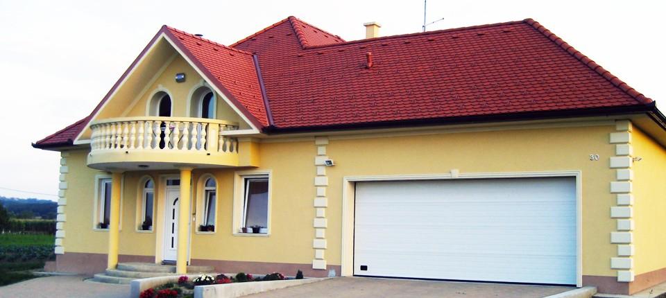Fasadne štukature - Obiteljska kuća
